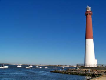 Barnegat Lighthouse, known affectionately as Ol' Barney