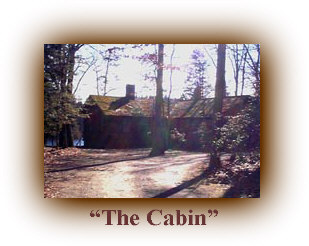 The Estlow Cabin, located at what is now Wells Mills County Park