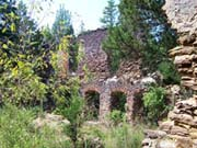 The remains of the paper mill at Harrisville, a lost town of the NJ Pine Barrens