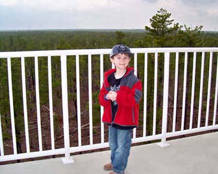 Jakes Branch County Park - observation deck