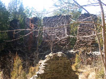 The Ruins of the paper mill at Harrisville, in the NJ Pine Barrens