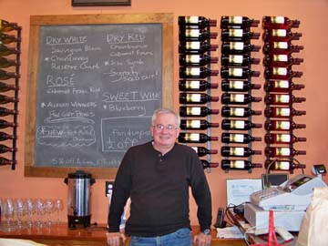 Sharrott Winery has won several prestigious awards for its wines