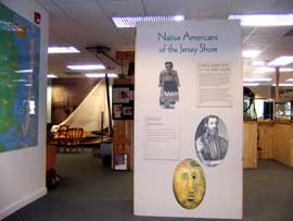 "Exhibits at Tuckerton Seaport  include ""Native Americans of the Jersey Shore"""