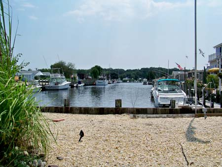Skipper's Cove is a quiet residential waterfront neighborhood in Waretown NJ.
