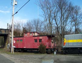 Caboose at Winslow Junction, NJ
