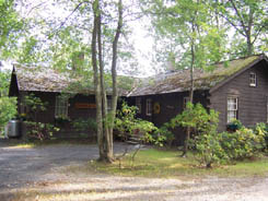 A cabin in the Pine Barrens